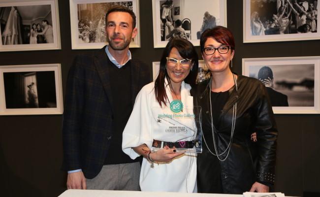 Photo Grazia D'anna e Marco Ognissanti i vincitori di Wedding Design Award
