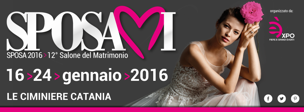 Sposamiexpo –  il Salone del Matrimonio dedicato ai servizi e ai prodotti nuziali.