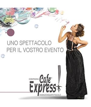 Compagnia Cafè Express intrattenimento e spettacoli: tutto un altro matrimonio!